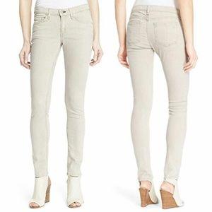 Rag & Bone beige skinny jeans
